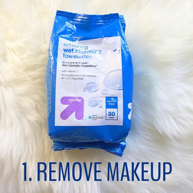 skincare remove makeup