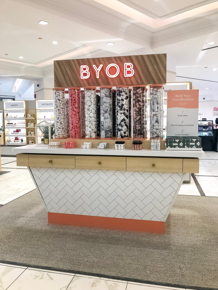 BYOB station